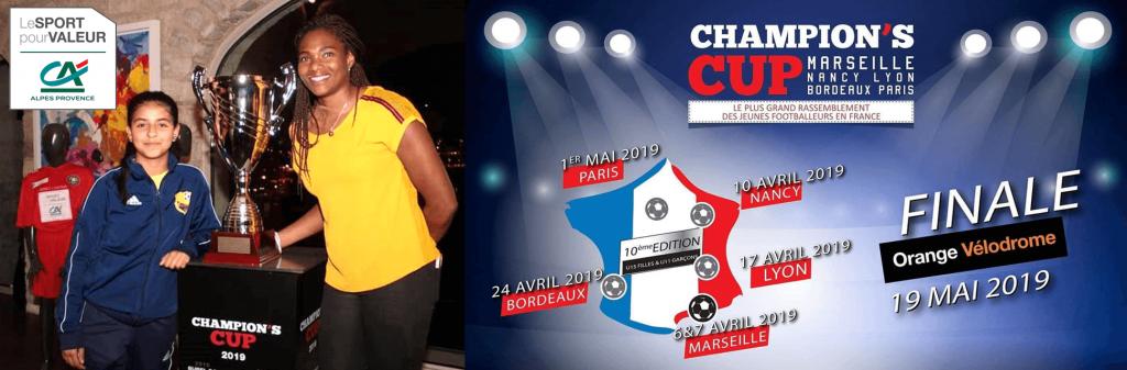 Bannière Champion's cup Marseille