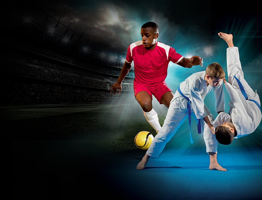 Lorraine, partenaire de la Fédération française de football et la federation française de judo