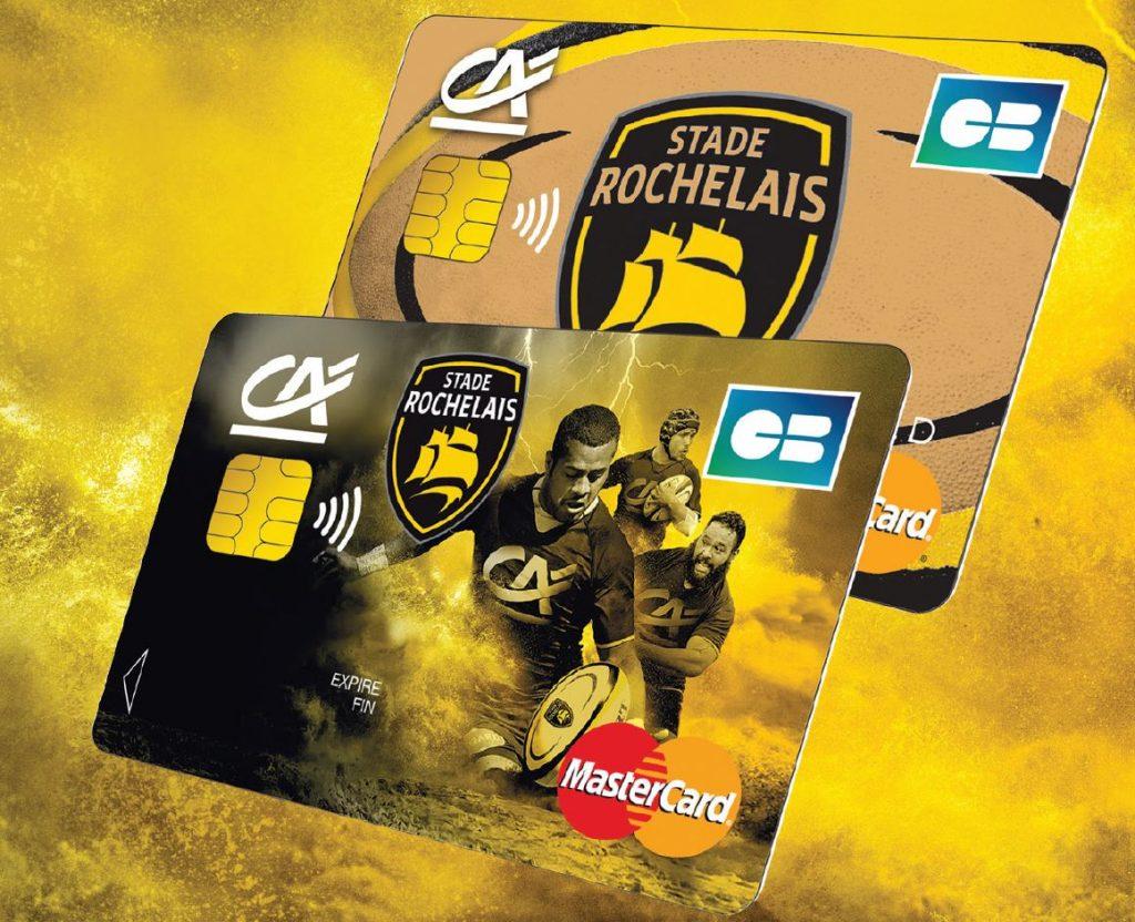 Charente Maritime Deux Sevres, partenaire Stade Rochelais, carte bancaire