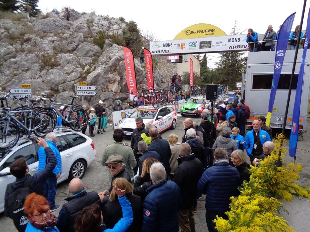 Tour du haut var 2019 Crédit Agricole Provence Côte d'Azur partenaire