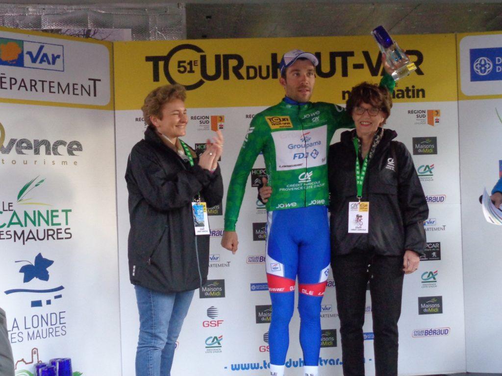 Podium du Tour du Haut Var 2019 Provence Côte d'Azur
