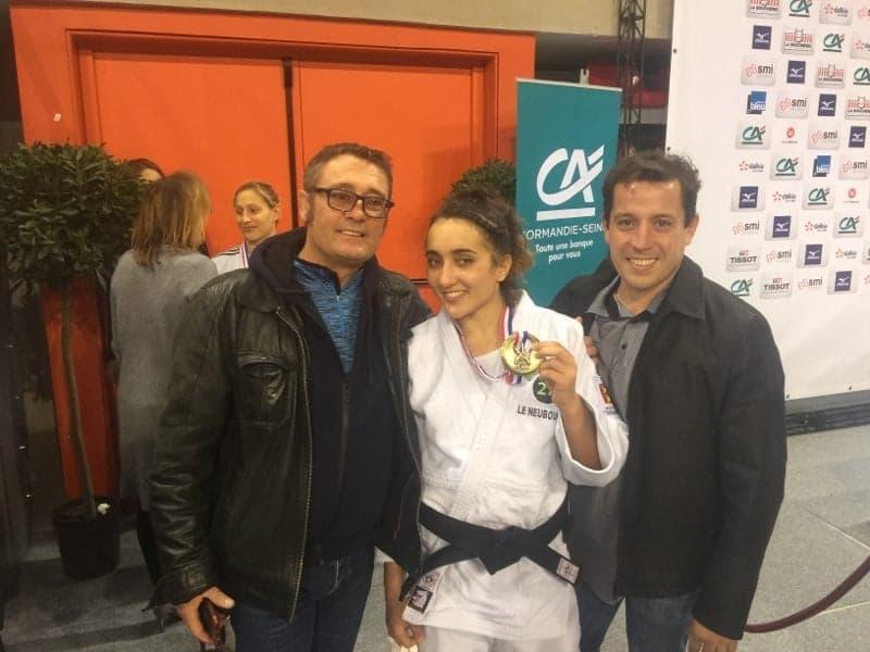Normandie Seine, partenaire des championnats de france de Judo, médaillée