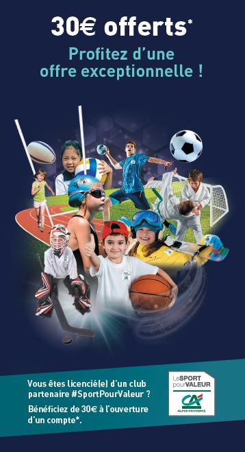 Alpes Provence, partenaire des clubs sportifs amateurs du territoire