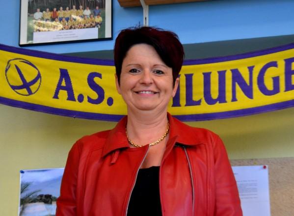 Portrait de la présidente de l'AS Ohlungen Muriel Acker
