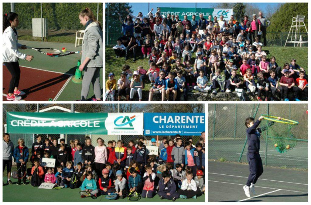 Le Crédit Agricole Charente-Périgord aux côtés des écoles de tennis pour la 10e Journée départementale