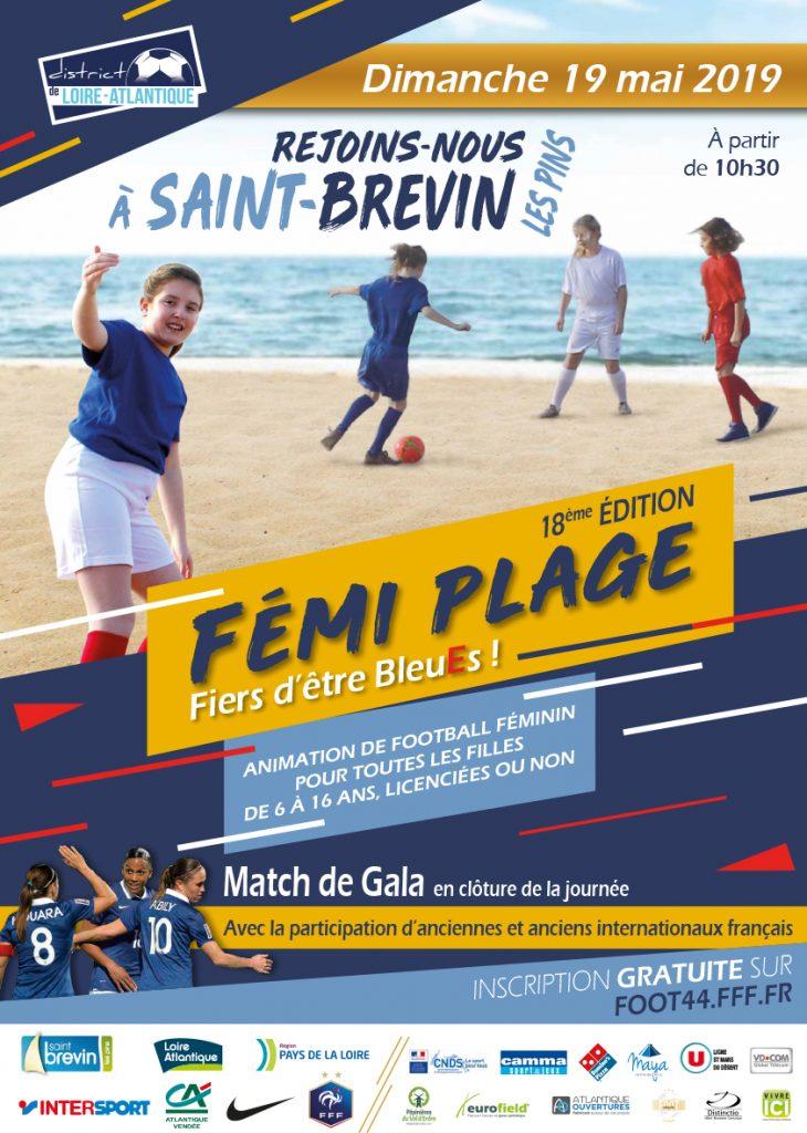 Atlantique Vendée, partenaire du Femi plage