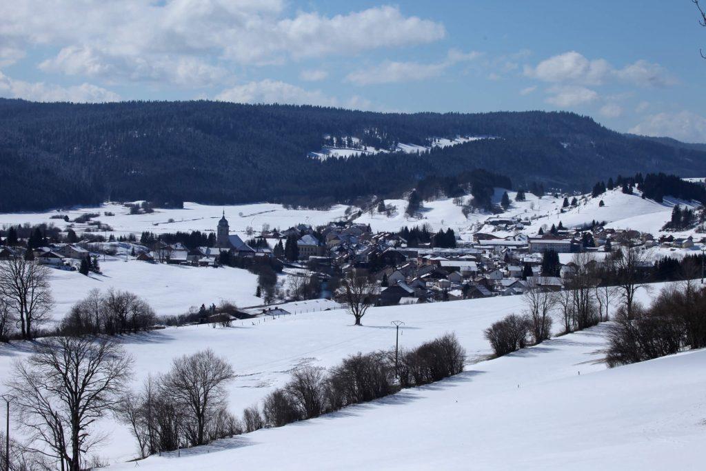 Photo du paysage de la commune de Mouthe