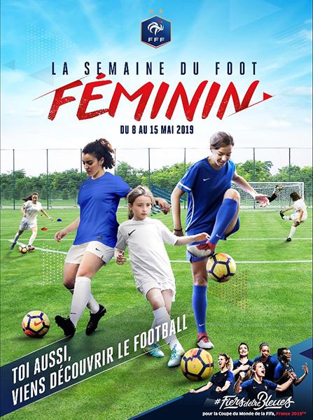Affiche de la semaine du foot féminin