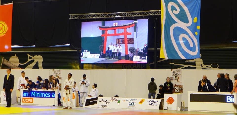 Sud Méditérranée, partenaire du tournoi international minimes Adidas de judo