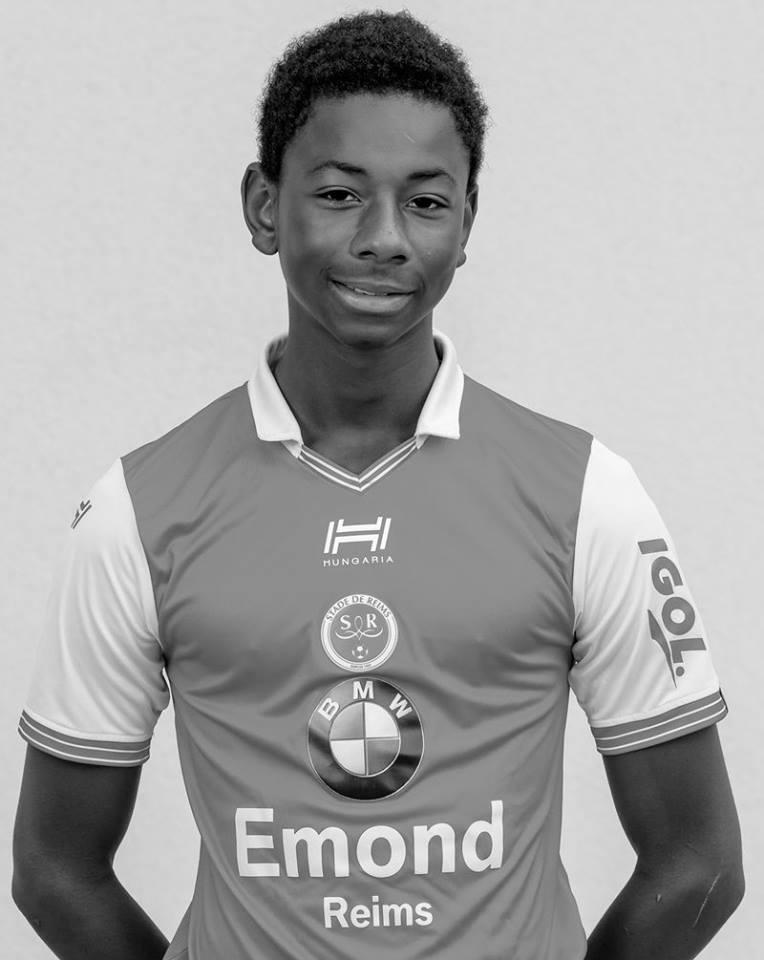 Portrait de l'un des joueurs des U14 d'Angoulême