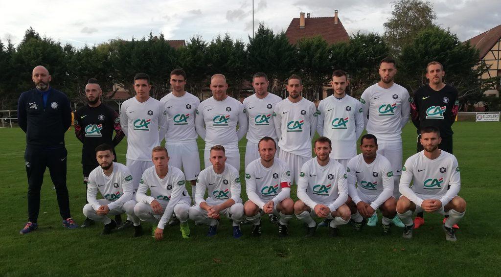 Photo de l'équipe fanion du FC Ostheim