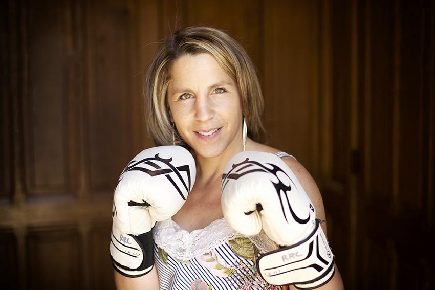Anne-Sophie Da Costa prête à boxer