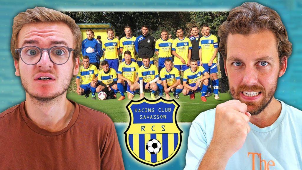 Photo d'une équipe de football